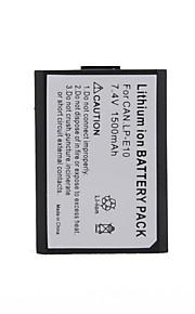 udskiftning Digitalkamera Batteri LP-E10 til Canon EOS 1100D
