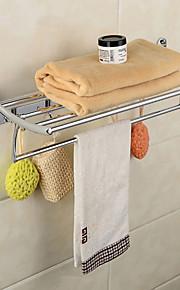 YALI.M®,מתלה מגבת כרום התקנה על הקיר פלדת אל חלד / אבץ אלוי מודרני