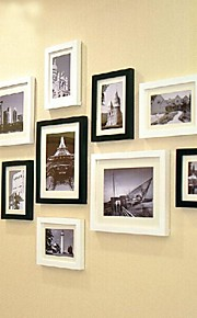 2 farver Photo Wall Frame Collection Set af 11