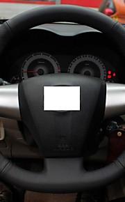 Xuji ™ Black echt leder stuurhoes voor 2011 2012 Toyota Corolla RAV4 WISH Matrix