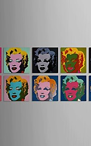 Impression Marilyn Monroe avec Set de cadre étiré de 10
