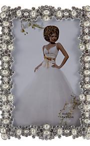 Cadre de perle d'alliage de marqueterie Marge style européen photo
