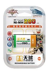 TMMQ TQ-MH07 9V High-Capacity NiMH oplaadbare batterijen