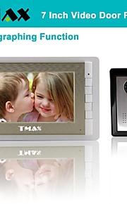 "tmax® 7 ""lcd fotograferen video deurtelefoon met 500tvl night vision camera"