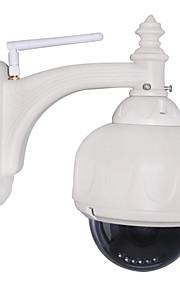 PTZ udendørs IP-kamera med 3x optisk zoom IR-cut vandtæt dag nat trådløs