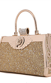 Handbag Metal/Sparkling Glitter Evening Handbags/Bridal Purse With Crystal/ Rhinestone/Metal