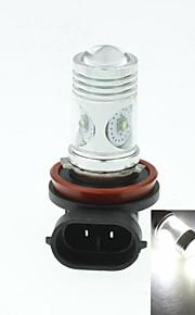h8 pgj191 Cree XP-e conduit 20w 1300-1600lm 6500-7500k ac / DC12V-24 brouillard blanc - argent noir