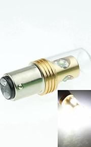 1157 p21 / 5W ba15d Cree XP-e conduit 20w 1300-1600lm 6500-7500k ac / DC12V-24 feux de recul - or transparent