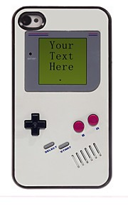 מקרה עיצוב קונסולת מתכת מותאם אישית משחק מתנה ל4 / 4S iPhone