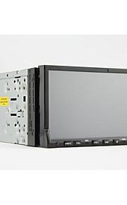 7-tommer 2 DIN TFT-skærm in-dash bil dvd-afspiller med Bluetooth, iPod-indgang, navigation-klar, rds, ATV