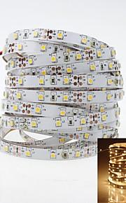 LED-stripe 5m 30W 300x3528 SMD varmt hvitt lys LED strip lampe DC12V