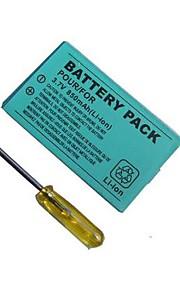 850mAh oplaadbare lithium-ion batterij + gereedschap-kit voor de Nintendo GBA SP