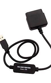 PS2 til PS3 USB controller konverter kabel adapter til Sony PS3 konsol spil