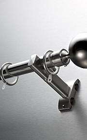 De acero inoxidable de diámetro 25mm cabeza redonda clásica moderna de una sola varilla
