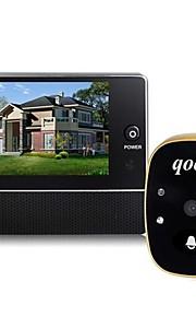 """Aoluguya 3.0 """"schermo lcd spioncino spioncino con visione notturna di foto e video di sicurezza domestica"""