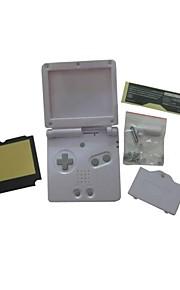 volledige behuizing shell dekking van het geval vervanging voor nintendo gba sp gameboy advance sp