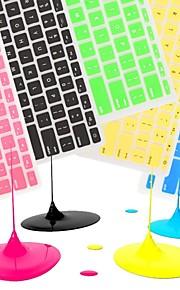 """coosbo® kleurrijke siliconen toetsenbord cover skin voor 11 """"/ 13"""" / 15 """"/ 17"""" MacBook Air Pro / netvlies (diverse kleuren)"""