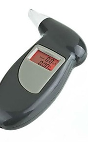 digital alkohol tester med røde baggrundsbelysning breaghalyzer med mundstykke 3 cabriolet
