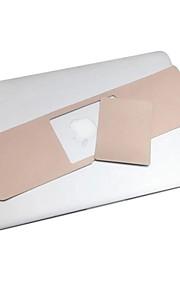 """gylden farge metall håndleddsstøtte beskyttende film og berøringspanel membran for 13.3 """"/15.4"""" macbook pro"""