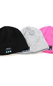 Fingo v3.0 charla cabeza del bluetooth stereo headset moda sombrero bluetooth táctil + llamada telefónica