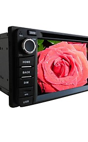 6,2-inch TFT-scherm 2 din in-dash auto dvd speler voor toyota met bluetooth, navigatie-ready gps, rds, atv