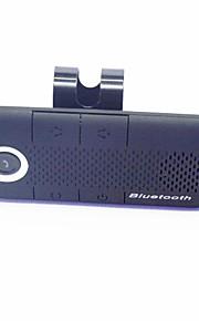 auto draadloze stereo bluetooth handsfree luidspreker multipoint met autolader - zwart