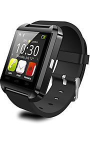 appels u8 Smartwatch portable, appareil photo un message contrôle des médias / mains libres / anti-perdu pour android ios téléphone intelligent /
