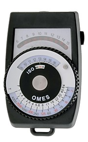 OMES L-3 Photography Exposure Meter / Continuous Light Meter with LED Display