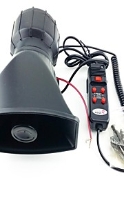 lit 60W 5-tone elektronisk sirene annunciator til bil