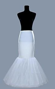 Déshabillés Robe sirène et robe évasée Ras du Sol 2 Lycra Organza Blanc