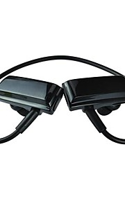 estilo de banda para el cuello bt252 auriculares auricular bluetooth estéreo deporte inalámbrico para el iphone y otros