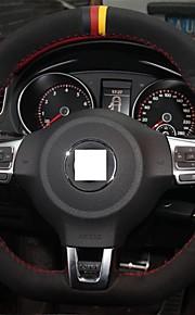 Xuji ™ sort ruskind rat dækning for Volkswagen Golf 6 GTI VW Polo GTI scirocco r