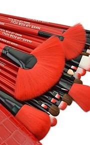 Make-up For You® 24pcs Pony hair Makeup Brushes set Professional/Limits bacteria blush/powder/foundation/concealer brush shadow/eyeliner/lash/brow/lip
