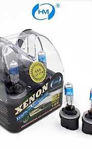 hm® xenon plasma 880 12v 27W halogenlampe forlygte hvid lyspærer (et par)