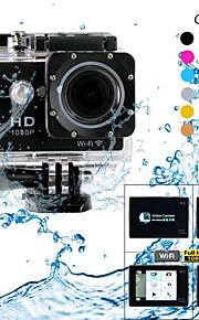 "eoscn hd1080p W9 vandtæt 2/3 ""CMOS 12MP sport kamera m / 2"" LTPS LCD / 900mAh batteri"
