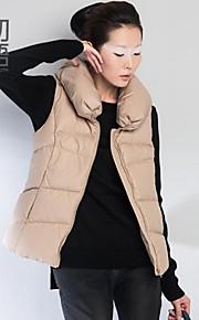 Toyouth ® Women's 2015 show thin collar sleeveless upset down vest