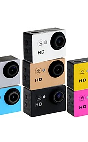 "HD720p eoscn a8 hd vandtæt 2/3 ""CMOS 5.0MP sports kamera med 1,5 LTPS LCD / 900mAh batteri"