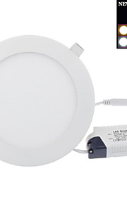 30 W 120 SMD 2835 2400 LM Warm White Recessed Retrofit Ceiling Lights/Panel Lights AC 85-265 V