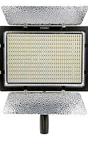 yongnuo yn900 høj CRI 95 + 54W 7200lm 5500K trådløse 900-ledede yn-900 førte video lys panel med filtre