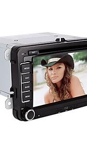 7 inch 2 din universele auto dvd-speler voor volkswagen ondersteuning bt, rds, touchscreen
