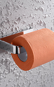 Porte-rouleau WC - Contemporain - Chromé - Fixation au Mur