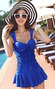 Women's Fashion Slim Was Thin Piece Of Steel Prop Gather Swimsuit Skirt Increase