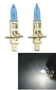 Carking ™ HOD H1 100W 5500K Ultra Bright Bil Warm White Light Pærer (DC 12V/Pair)