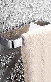 Anneau porte-serviette - Contemporain - Chromé - Fixation au Mur