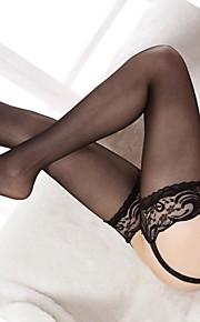 Damen Strumpfhose - Spitze / Netz Dünn