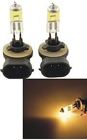 carking ™ Kobo 881 12v 100w 3000K 550lm gult lys bil halogen forlygter (2 cps)