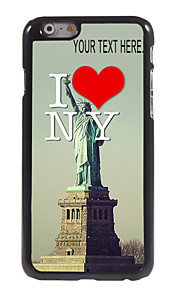 "Personalized Case I Love New York Design Metal Case for iPhone 6 (4.7"")"