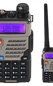BaoFeng UV-5RE 128 Memory Channels with Frequency Range VHF / UHF 136-174 / 400-470MHz Walkie Talkie