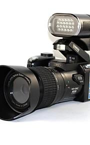 """3 """"5.0MP cmostft lcd skærm digitalt kamera 21x optisk zoom digital SLR-kameraer med LED forlygte til udendørs brug-sort"""