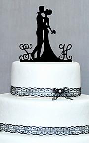 legno personalizzato cake topper